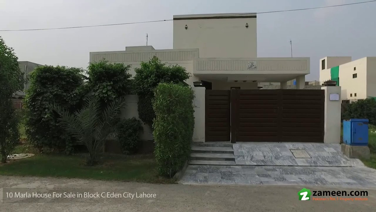 10 Marla Beautiful Single Storey House Is Available For Sale In Block C Eden City Lahore