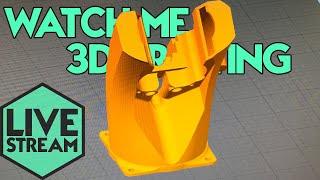 Watch Me 3D Printing | Creality Noctua Fan Shroud | Live Stream