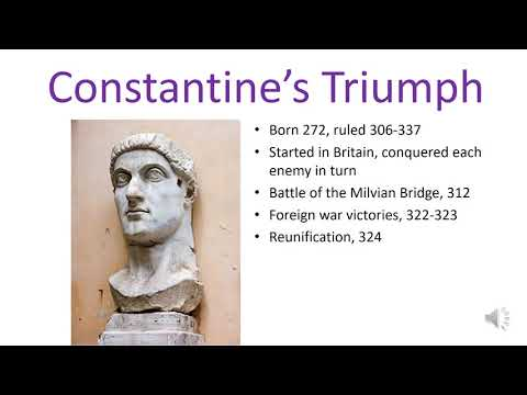 The Late Roman Empire (Lecture 2.1)