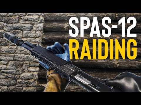 SPAS-12 SILENT RAIDING! - Rust SOLO Survival thumbnail