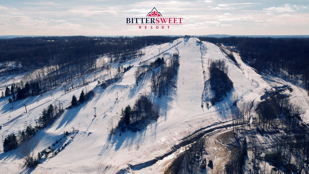 bittersweet ski resort | otsego, mi - youtube