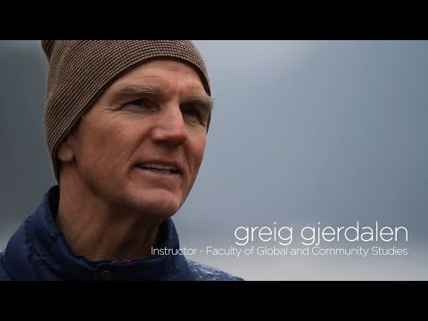Greig Gjerdalen - Instructor - Faculty of Global & Community Studies