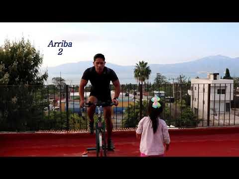 Clase de Spinning Quema Calorías Aerobica Musica Mix