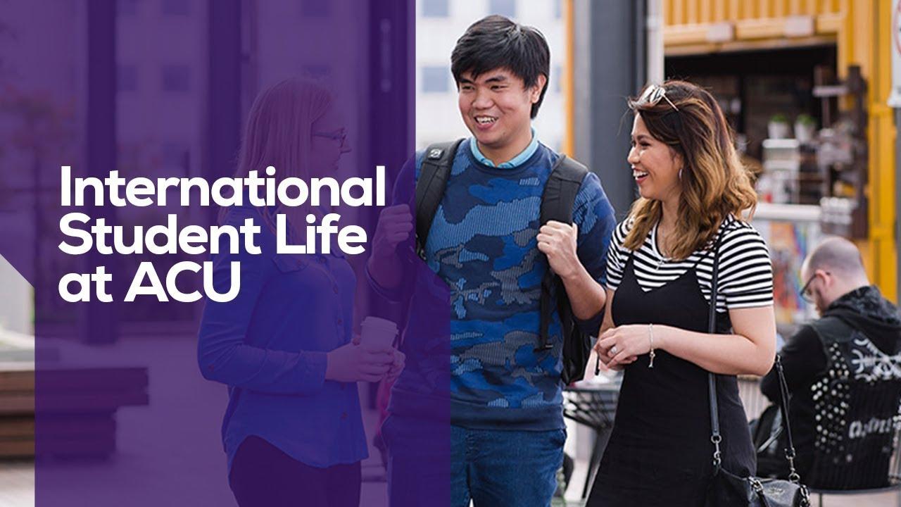 International student life at ACU #ACULife