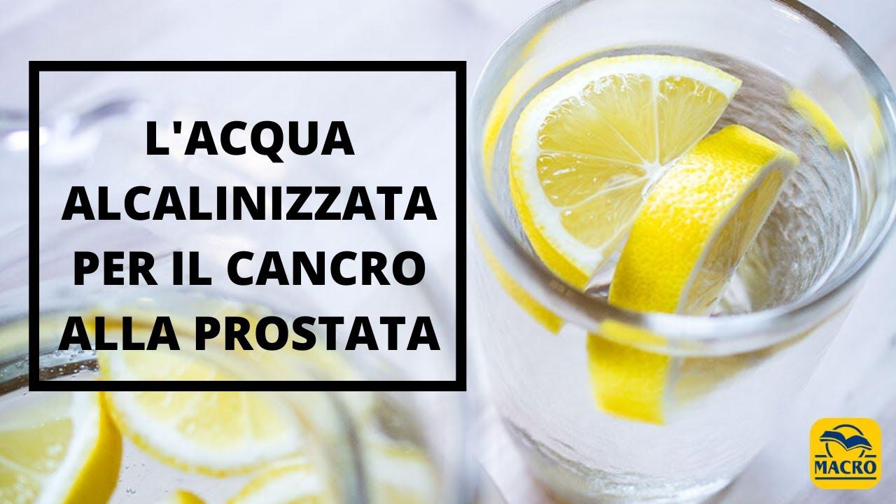 L'acqua alcalinizzata previene il cancro alla prostata: i consigli del Dott. Stefano Fais