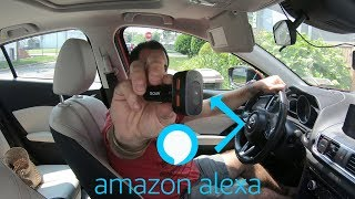 Amazon Alexa For Your Car?!   Anker Roav Viva