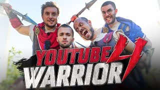 YOUTUBE WARRIOR 4 vs CYPRIEN & SQUEEZIE