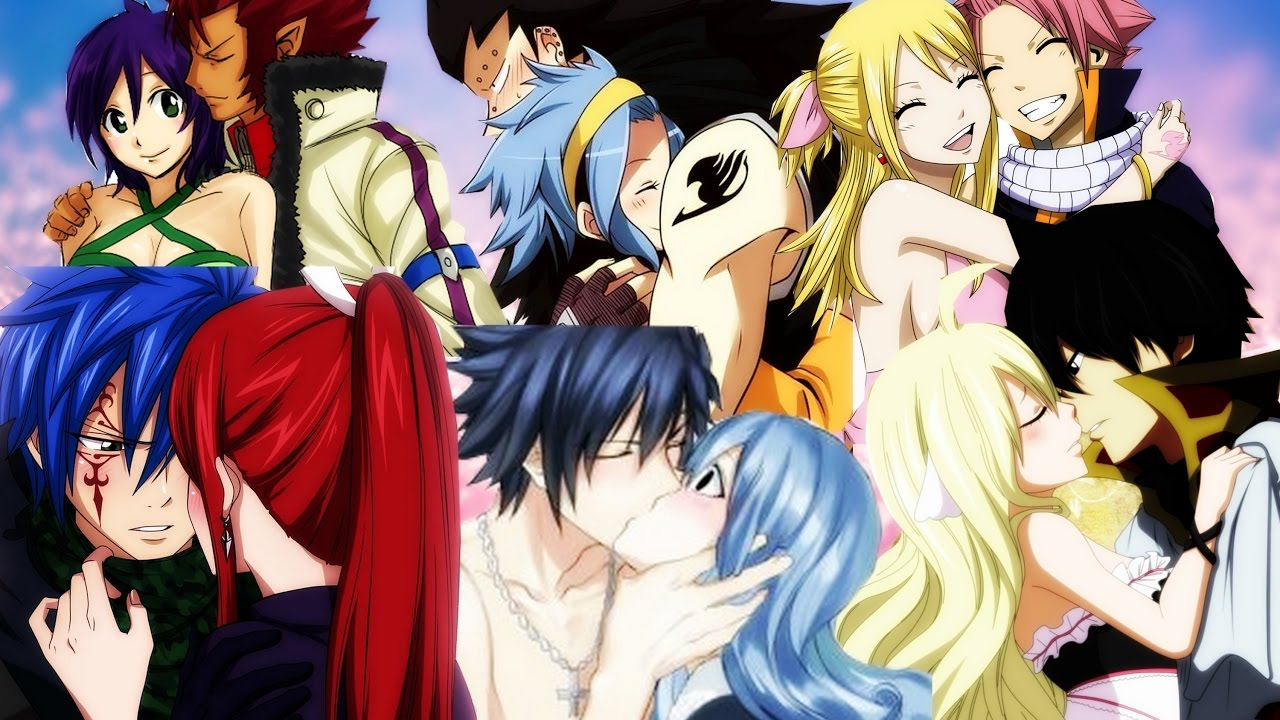 Mes couples favoris dans fairy tail top 10 spoilers youtube - Fille fairy tail ...