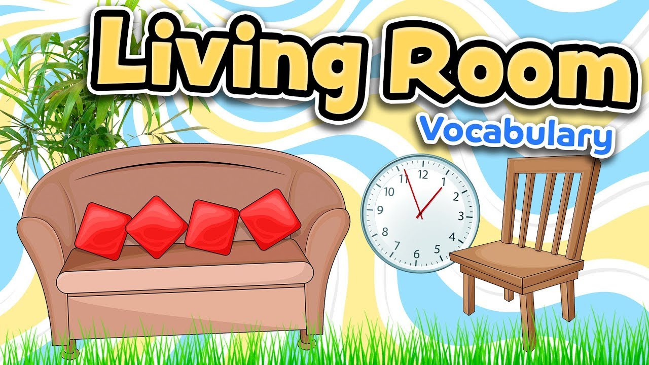 Living room in English - YouTube