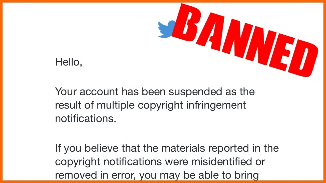 How Universal Music Group (UMG) got my Twitter account perma-banned.