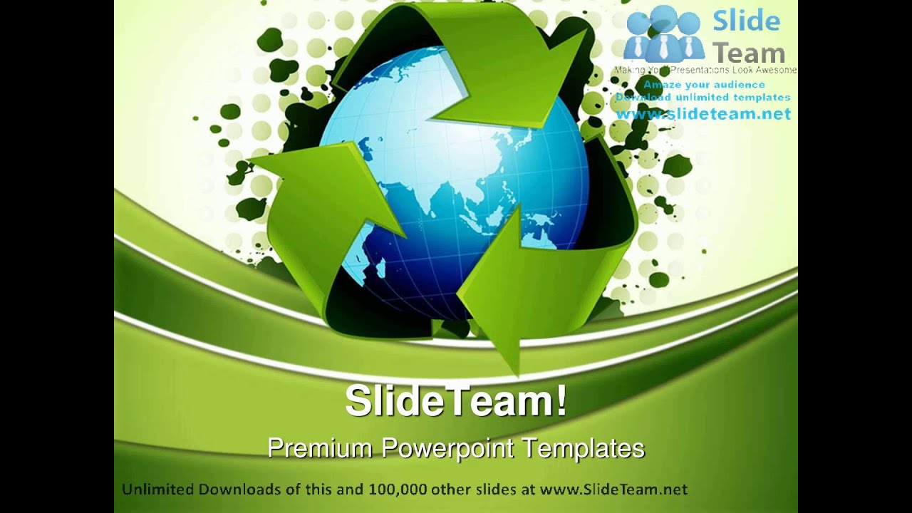 Recycling world concept environment powerpoint templates themes and recycling world concept environment powerpoint templates themes and backgrounds graphic designs youtube toneelgroepblik Image collections