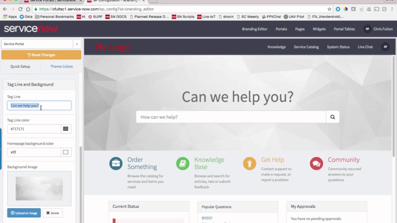 service portal 101 2 youtube