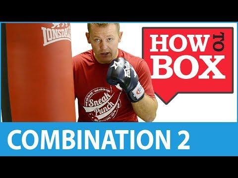 Punch Bag Combination 2 - Boxing Techniques