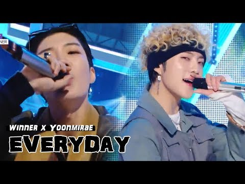 [HOT] Yoonmirae X WINNER - EVERYDAY, 윤미래 X 위너 - EVERYDAYMusic core 20180811