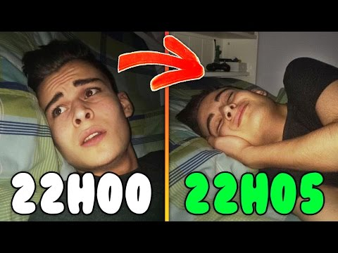 COMMENT S'ENDORMIR EN 5 MINUTES ?! (8 Astuces/Life Hack)