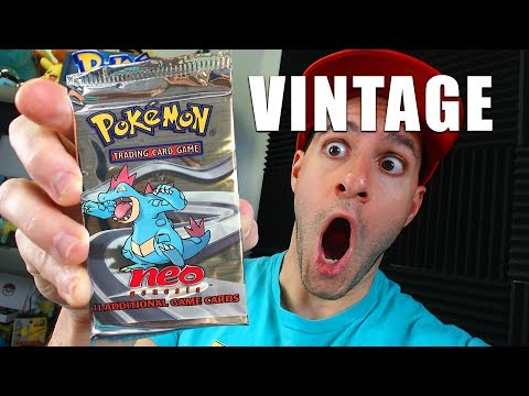 OPENING OLD PACKS FROM MY CHILDHOOD!