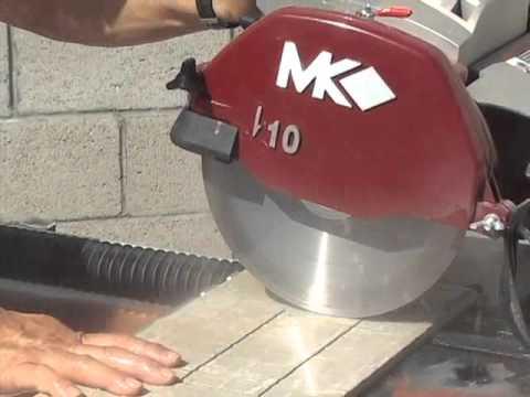mk 212 series tile stone saws youtube