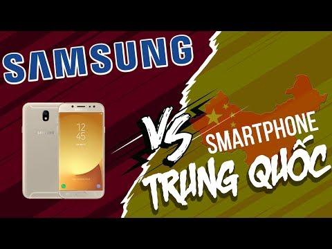 Samsung đã làm gì để đối đầu smartphone Trung Quốc