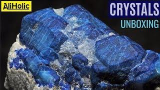 Незвичайні кристали і напівкоштовні камені від #алиэкспресс: розпакування/огляд - обсяг. 1