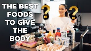 BEST FOODS FOR MUSCLE GROWTH? - What's in my fridge!