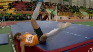 Epic fail. High jump. Ukraine national championship 2017