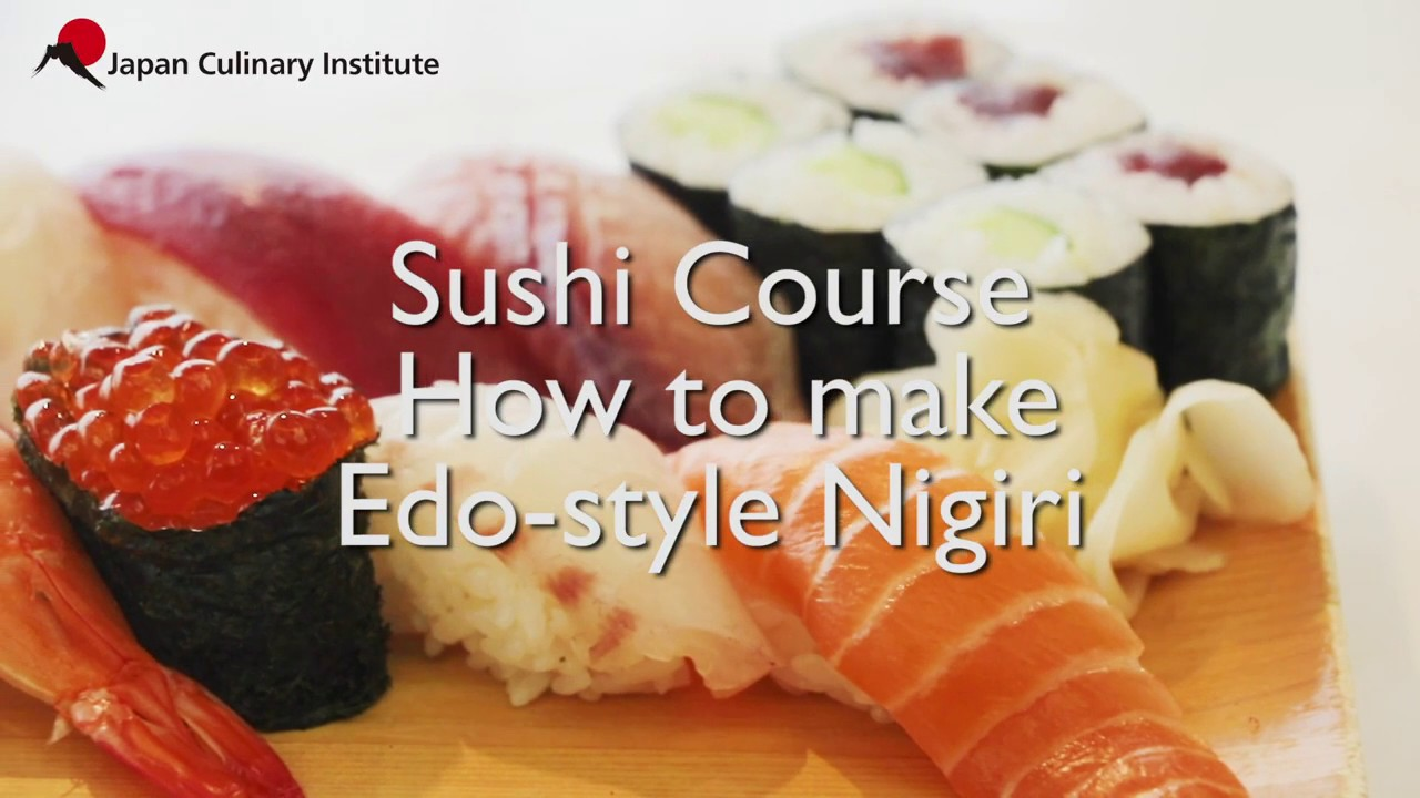 Japan Culinary Institute - Professional Sushi Course - Nigiri - November