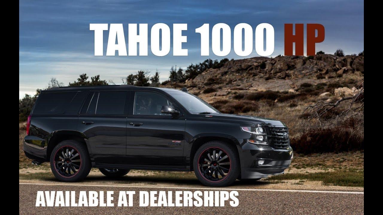 1000 HP Chevy Tahoe & Suburban - YouTube