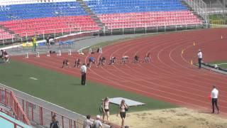 Первенство России по легкой атлетике среди юниоров (СПОРТ ГЛУХИХ) 100м ФИНАЛ