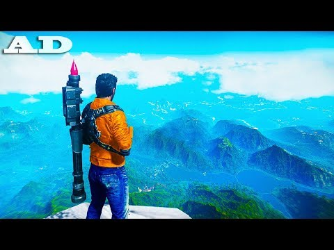 JUMPING From the HIGHEST POINTS in Just Cause 4!
