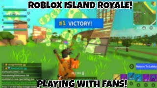 🔴Roblox Island Royale! Playing w/ Viewers!🔴