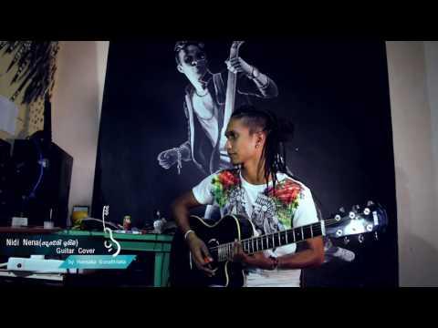 Nidi Nena Guitar Cover Deweni Inima Teledrama Theme Song   Hansaka Gunathilaka