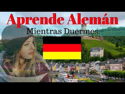 Aprender Alemán Mientras Duermes 130 Frases Básicas Alemán Español