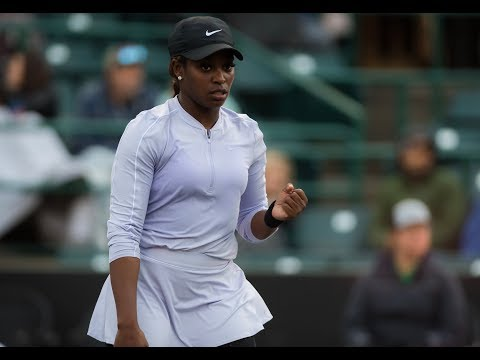 Sloane Stephens | 2019 Volvo Car Open Day 2 | Shot of the Day
