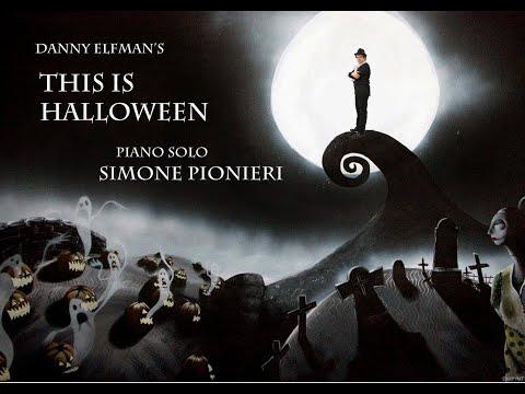 This is Halloween Piano Solo ( Simone Pionieri )