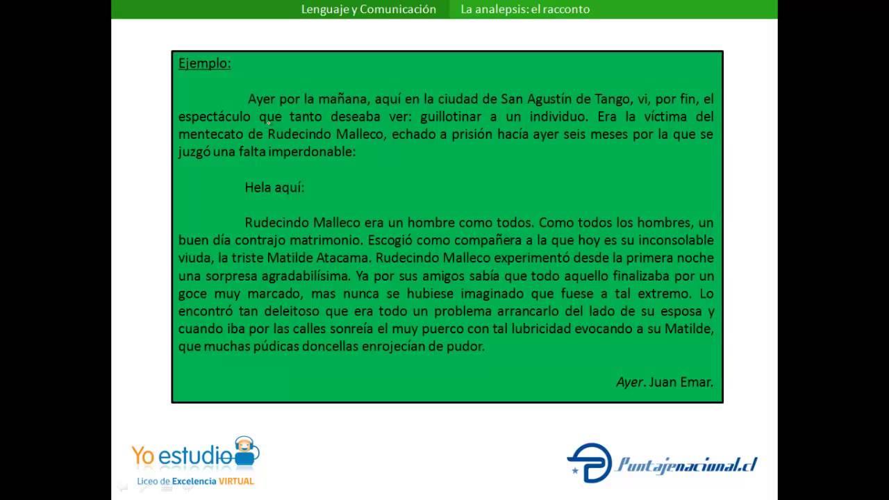 Download La analepsis: el racconto