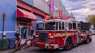 [ Manhattan Box 601 ] *Pre-Arrival* Fire at Chelsea Piers Sports Facility