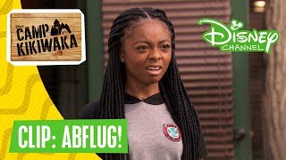 CAMP KIKIWAKA - Clip: Abflug! | Disney Channel