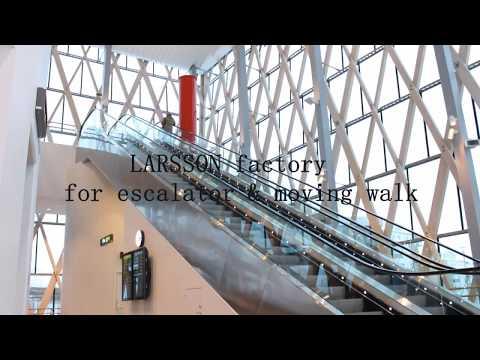LARSSON escalator & moving walk factory view in Suzhou China.