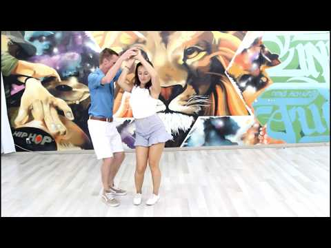 Dima & Liza de Israel bailan