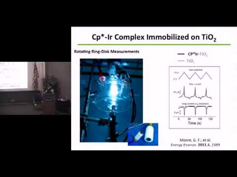 PBD S&T Talks: Recent Advancements in Solar Fuels and Artificial Photosynthesis by Gary F. Moore