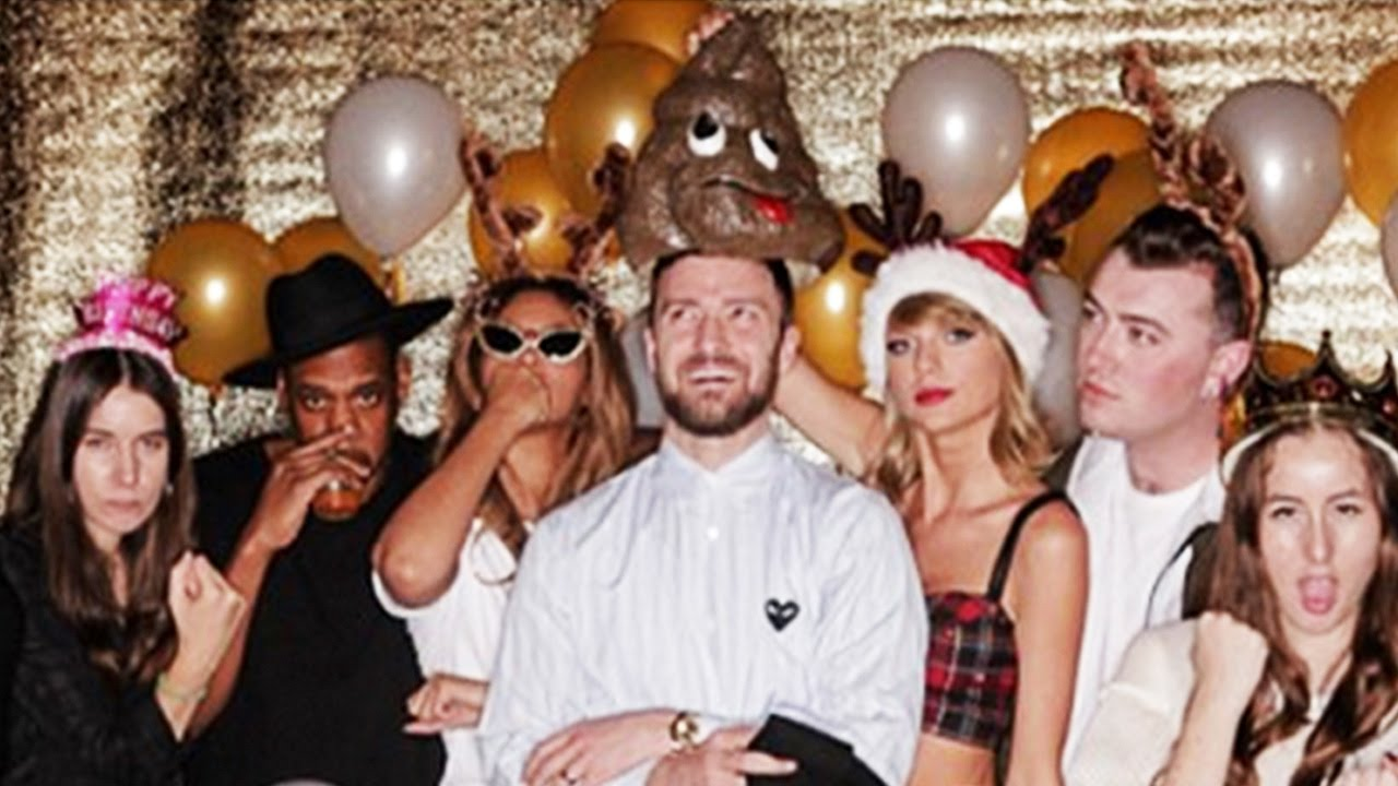 Taylor Swifts 25th Birthday Party With Beyonce Justin Timberlake MORE