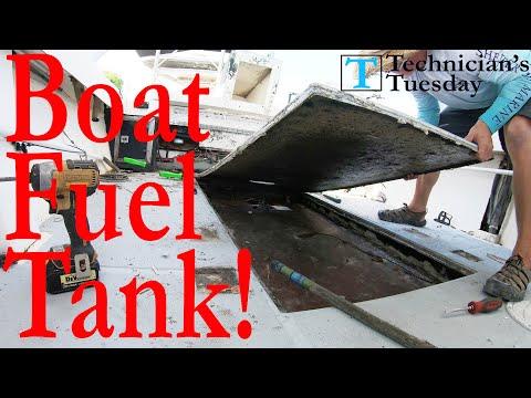 Replacing A Boat Fuel Tank Part 1!