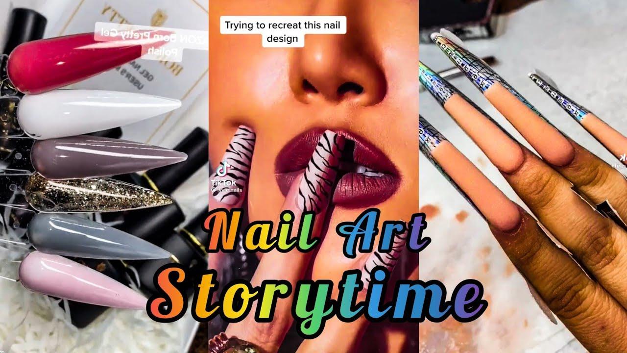 🆕️ COMPLETE NAIL ART STORY TIME PART3 TIKTOK COMPILATION | atv