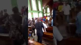IPOB Members Disrupts Church Services At CKC Aba When Asked To Pray For Nigeria