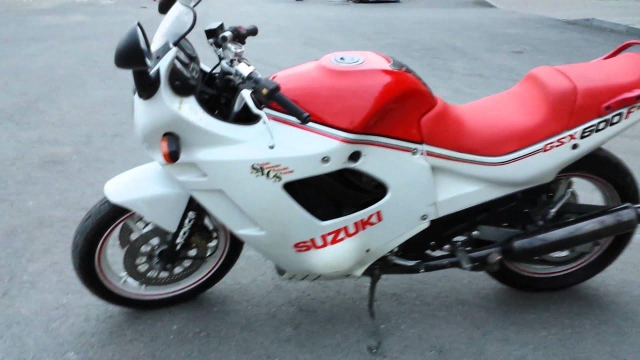 Suzuki gsx 600 katana - YouTube