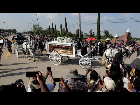 Horse-drawn Hearse Owner Talks About Special Service For George Floyd Funeral