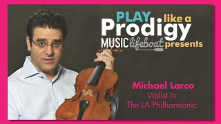 Learn From A Master Viola Lesson 4: Tuning  With Virtuoso Michael Larco