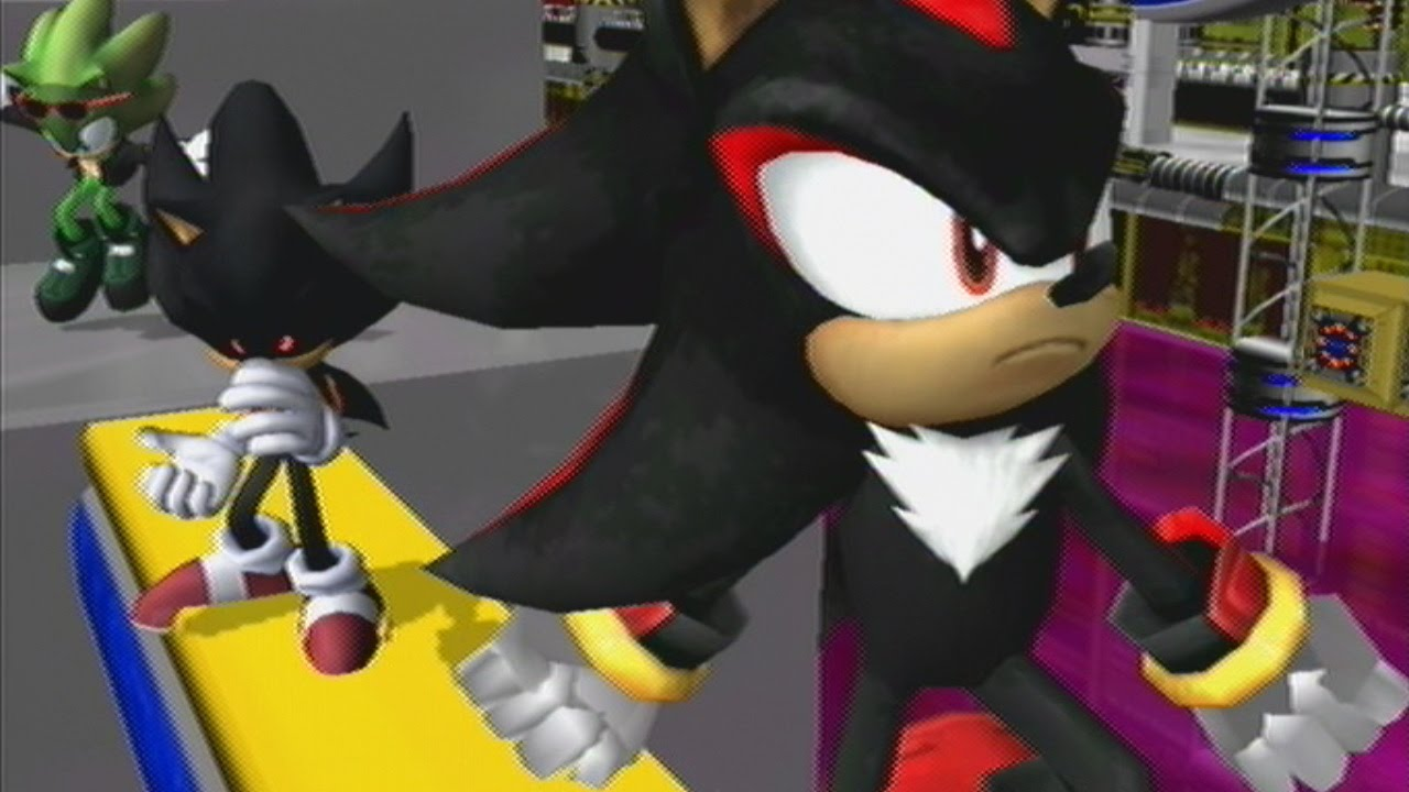 Dark Sonic.EXE Vs. Sha... Super Sonic And Super Shadow And Super Silver Toys
