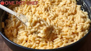 3 Ingredient Macaroni and Cheese | One Pot Chef