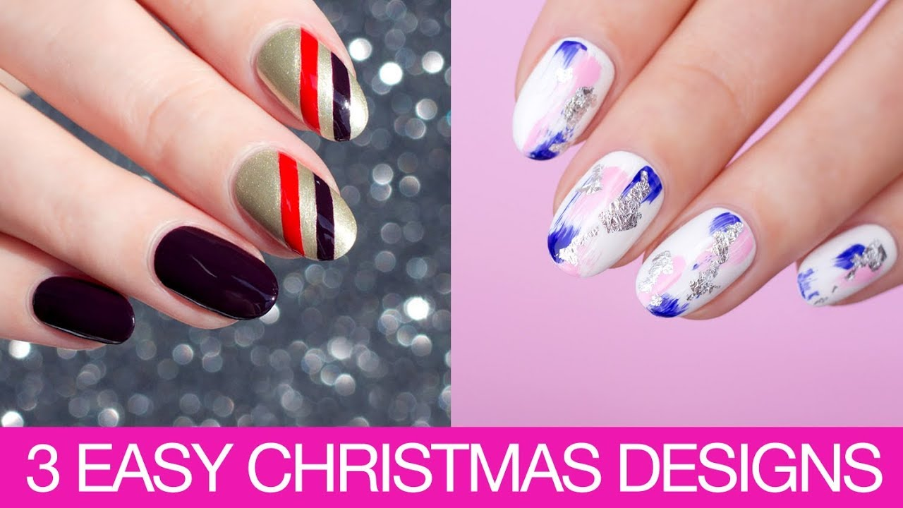 3 Easy Christmas Nail Designs To Try Right Now Opi Australia
